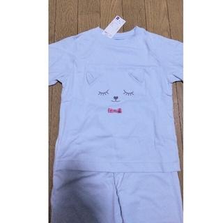 ジーユー(GU)のかわいいパジャマ 男女兼用 立体のリボンと耳が可愛い!保育園にも110cm GU(パジャマ)