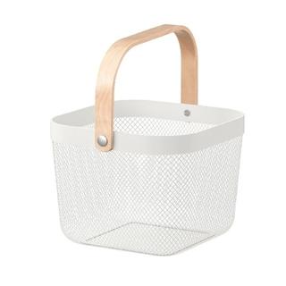 IKEA - IKEA バスケット ホワイト リーサトルプ