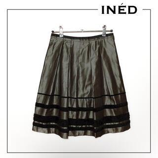 INED - INED ひざ丈 スカート*ボッシュ トッカ セオリー イエナ エフデ ルスーク