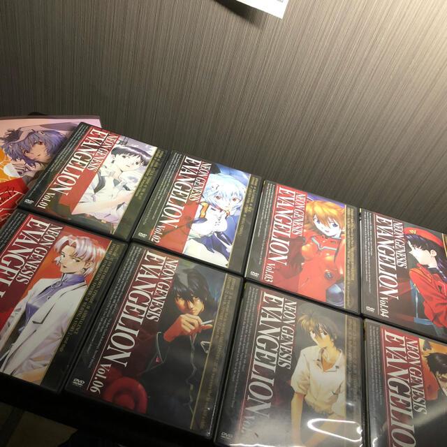 Color(カラー)のエヴァンゲリオン/Evangelion アニメ DVDセット Vol.01〜08 エンタメ/ホビーのDVD/ブルーレイ(アニメ)の商品写真