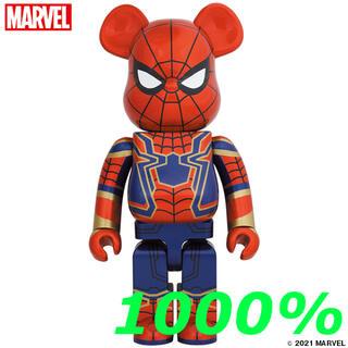 メディコムトイ(MEDICOM TOY)の【新品・未開封】BE@RBRICK IRON SPIDER 1000%(その他)