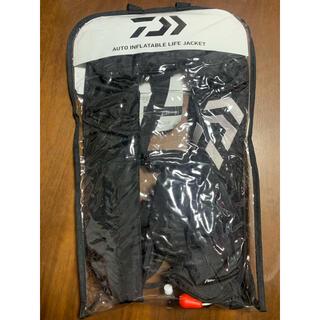 ダイワ(DAIWA)のダイワ ライフジャケット ブラック(釣り糸/ライン)