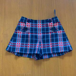 バーバリー(BURBERRY)のBURBERRY パンツスカート(ミニスカート)