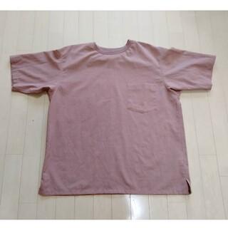 ニコアンド(niko and...)のファンクションクロスTシャツ(ベージュ、Lサイズ)(シャツ)