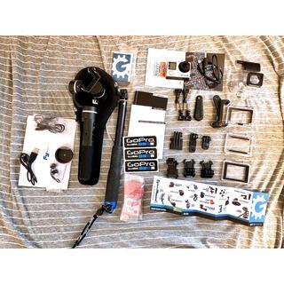 ゴープロ(GoPro)の買いお得★GOPRO4 SP GADGETS アクセサリーまとめ売(コンパクトデジタルカメラ)