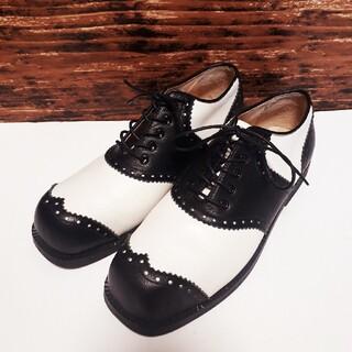 ヨウジヤマモト(Yohji Yamamoto)の美品 ヨウジヤマモト Y's ワイズ ドレスシューズ 革靴 約23cm(ローファー/革靴)