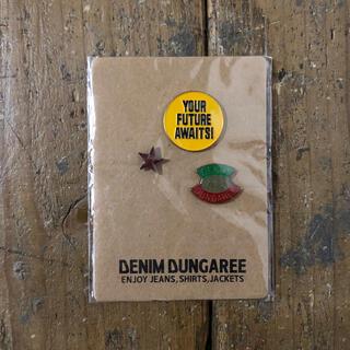 デニムダンガリー(DENIM DUNGAREE)の新品 デニムダンガリー  ピンバッチ(その他)