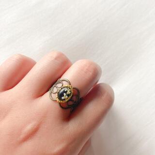 ロキエ(Lochie)の୨୧ Vintage rétro Dryflower lace ring(リング)