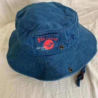 ロキシー(Roxy)のROXY ロキシー ジーンズ生地 帽子 ハット 57cm(ハット)