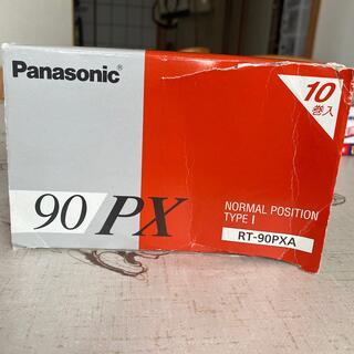 パナソニック(Panasonic)のパナソニックカセットテープ90分 ノーマルポジションPX90(その他)