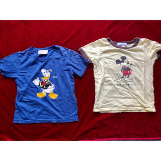 アズールバイマウジー(AZUL by moussy)のTシャツ2枚セット アズール 120サイズ(Tシャツ/カットソー)