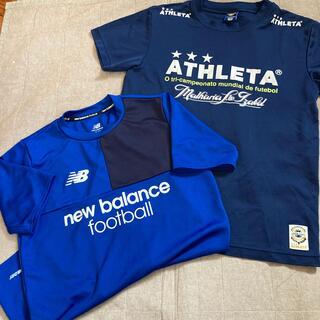 アスレタ(ATHLETA)のサイズM 2枚セット ドライ加工 (Tシャツ/カットソー(半袖/袖なし))