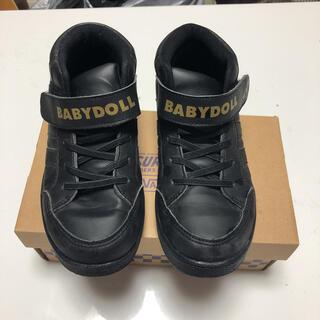 ベビードール(BABYDOLL)のBABYDOLL ハイカットスニーカー 22cm(スニーカー)