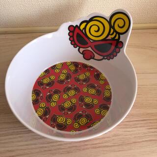 ヒステリックミニ(HYSTERIC MINI)の新品未使用!ヒステリックミニ お皿 赤(プレート/茶碗)