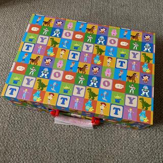 トイストーリー(トイ・ストーリー)のトイストーリー オリジナル収納ボックス トイ・ストーリー4 DVD(キッズ/ファミリー)