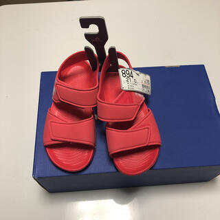 アディダス(adidas)のアディダス サンダル ピンク 子供 キッズ 21 ウォーターサンダル 水遊び(サンダル)