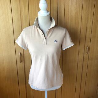 モンクレール(MONCLER)のりり様検討中 美品 モンクレール レディースポロシャツ ベージュ サイズS(ポロシャツ)