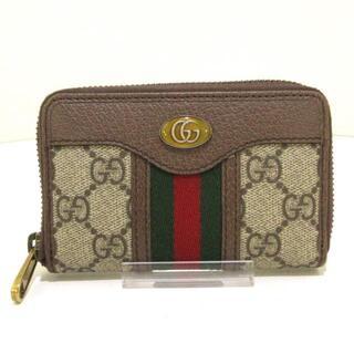 グッチ(Gucci)のGUCCI(グッチ)美品  オフィディア 597613(名刺入れ/定期入れ)