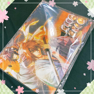 【ゲリラSALE】薄桜鬼_クリアファイル&缶バッチセット(クリアファイル)