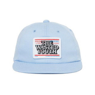 wasted youth black eye patch cap sax(キャップ)