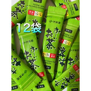 イトウエン(伊藤園)のおーいお茶 (インスタント緑茶)12袋(茶)