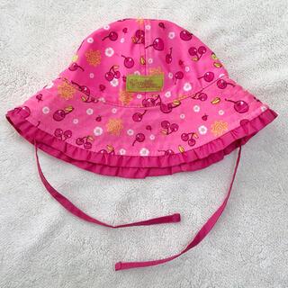 コストコ(コストコ)のUVskinz キッズ帽子 チェリー 48cm(帽子)
