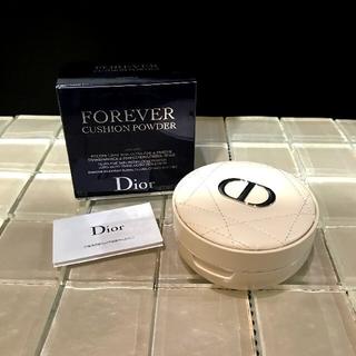 クリスチャンディオール(Christian Dior)のクリスチャンディオール☆フォーエバー☆クッションパウダー☆ラベンダー(フェイスパウダー)