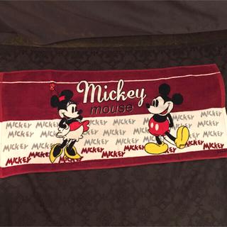 ミッキーマウス(ミッキーマウス)のミッキー&ミニー フェイスタオル(タオル/バス用品)