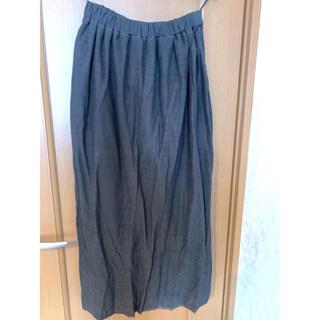 サマンサモスモス(SM2)の【新品未着用】SM2 サマンサモスモス グレー ロングスカート(ロングスカート)