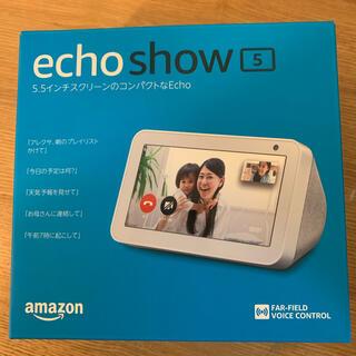 エコー(ECHO)のAmazon echoshow5  alexa(スピーカー)