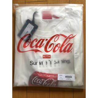 XXL  KITH×Coca-cola Tシャツ 未使用(Tシャツ/カットソー(半袖/袖なし))