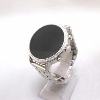 フォッシル(FOSSIL)のフォッシル美品  FTW6013 レディース 黒(腕時計)
