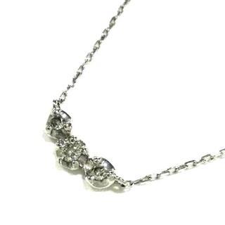 ブルーム(BLOOM)のブルーム美品  - K10WG×ダイヤモンド(ネックレス)