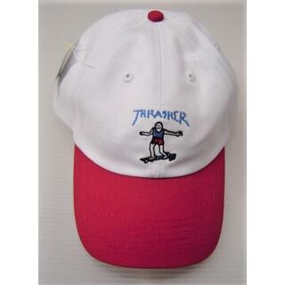 スラッシャー(THRASHER)のスラッシャー ゴンズ アート OLD TIMER CAP 刺繍プリント キャップ(キャップ)