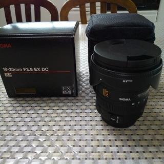 ペンタックス(PENTAX)のSIGMA10-20mm F3.5 EX DC PENTAX ペンタックス (レンズ(ズーム))