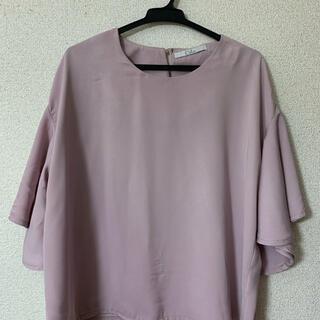 カラー(Color)のColor カラー 袖フリルブラウス(シャツ/ブラウス(半袖/袖なし))