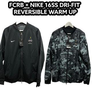 F.C.R.B. - FCRB × NIKE ナイキ 16SS リバーシブル ジャケット Sサイズ