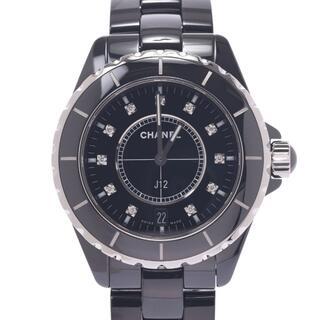 シャネル(CHANEL)のシャネル  J12 38mm 11Pダイヤ 腕時計(腕時計(アナログ))