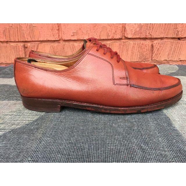 LUDWIG REITER(ルーディックライター)のLUDWIG REITER Uチップ REDBROWN メンズの靴/シューズ(ドレス/ビジネス)の商品写真
