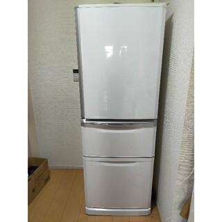 三菱 - 三菱MR-C34Y-W  335L 3ドア冷蔵庫