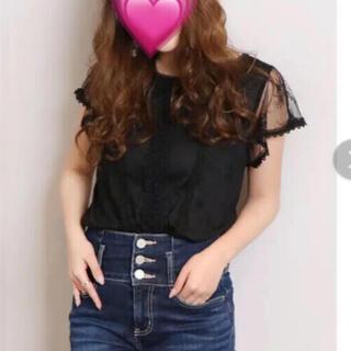 ダズリン(dazzlin)のdazzlin レースTシャツ(シャツ/ブラウス(半袖/袖なし))