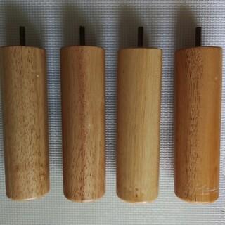 ムジルシリョウヒン(MUJI (無印良品))の無印良品 足付マットレスベッド専用木脚(脚付きマットレスベッド)