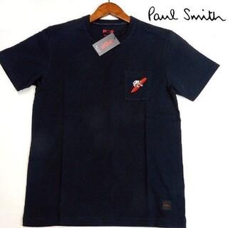 ポールスミス(Paul Smith)の新品 Paul Smith ポールスミス M 紺 サーフィンラビットTシャツ(Tシャツ/カットソー(半袖/袖なし))