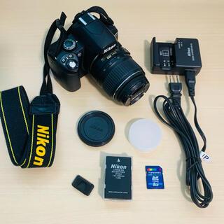 ニコン(Nikon)の中古 Nikon 一眼レフ D40 レンズセット(デジタル一眼)