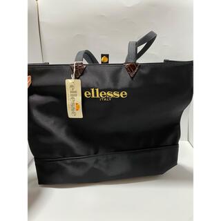 エレッセ(ellesse)のエレッセ ellesse トートバッグ 大容量 かばん 鞄 レディース 黒(トートバッグ)
