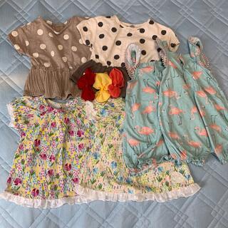 女の子洋服セット 双子服 サイズ80(5月末まで)(その他)