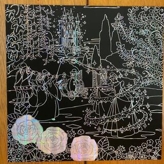 ディズニー(Disney)のスクラッチアート 完成品 他種類もあります(アート/写真)