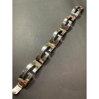 グッチ(Gucci)のGUCCI  Gブレスレット イタリア製 silver925(ブレスレット)