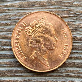 外国硬貨 エリザベス  フィジー 2セント(貨幣)