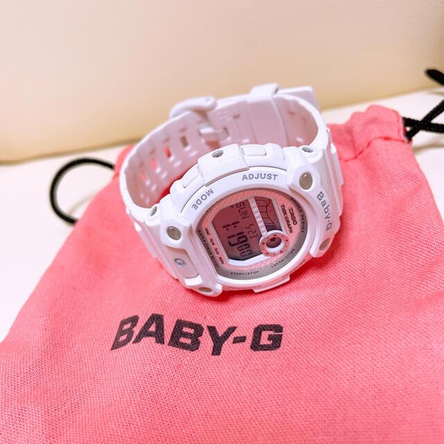 Baby-G(ベビージー)のBABY-G ホワイト メンズの時計(腕時計(デジタル))の商品写真